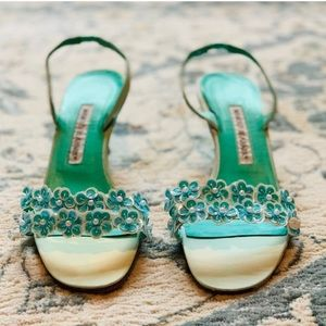Manolo Blahnik embellished really heels!